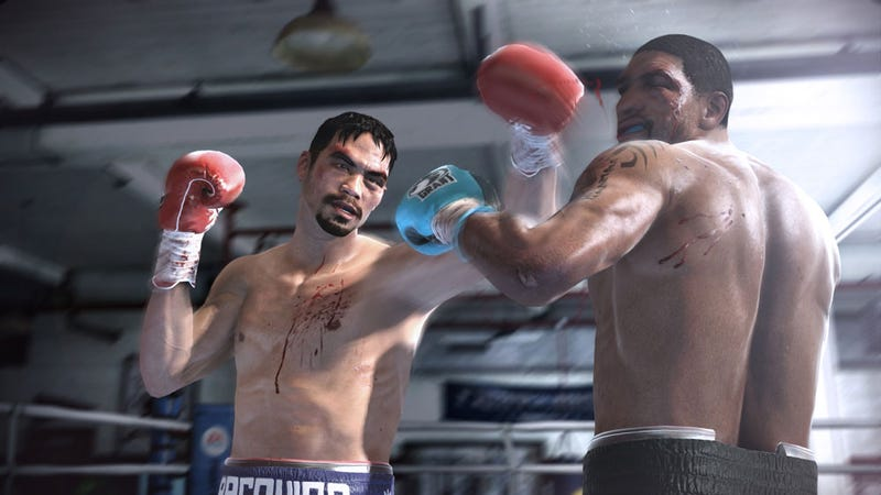 Illustration for article titled Fight Night Champion Is EA Sports' First M-Rated Game