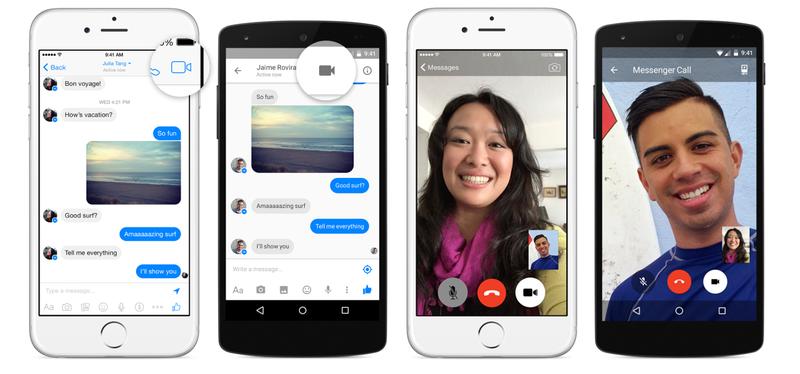 Illustration for article titled Facebook Messenger añade videollamadas para competir con Skype