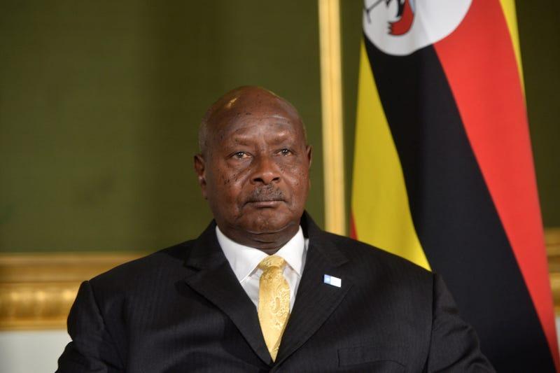 President Yoweri Museveni of Uganda (Hannah McKay/WPA Pool/Getty Images)