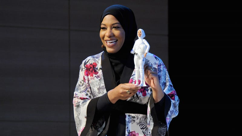 Mattel's hijab-wearing Barbie replica of Olympian Ibtihaj Muhammad has arrived