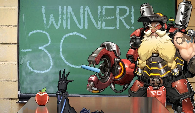 Illustration for article titled Kotaku 'Shop Contest: This Is A Job For Torbjorn: The Winners!