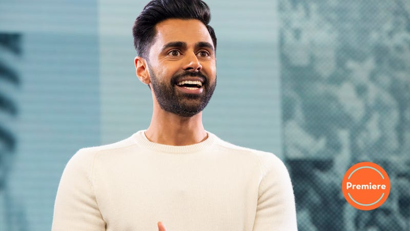 Illustration for article titled Patriot Act doesn't break the mold, but Hasan Minhaj sets a new standard for talk show hosts