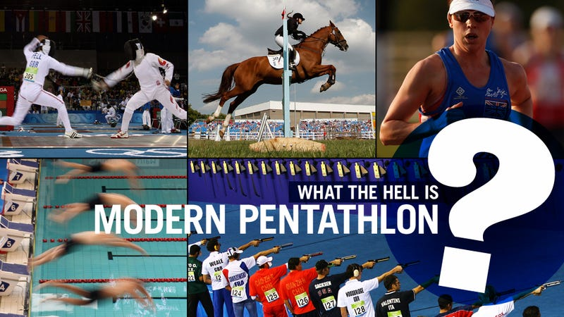 Illustration for article titled Everything You Never Needed To Know About Modern Pentathlon