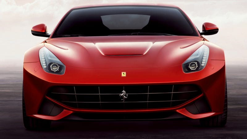 Illustration for article titled Ferrari F12berlinetta: Press Photos