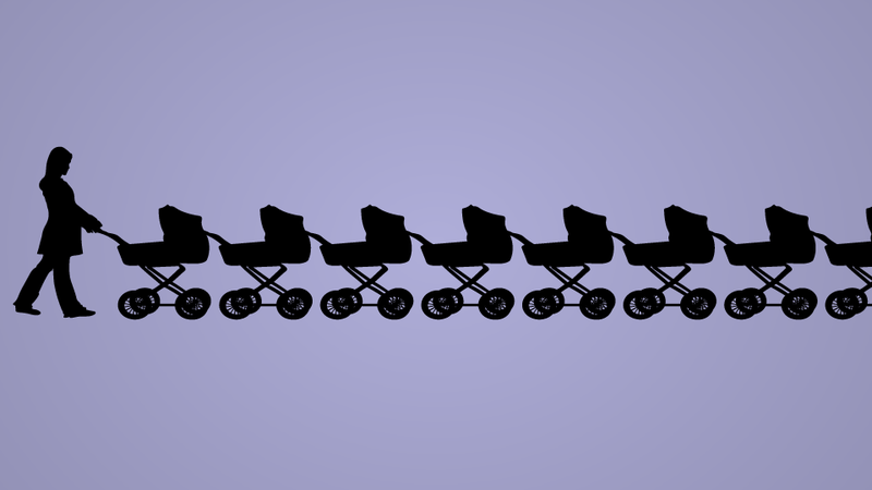 Illustration for article titled If We Don't Start Procreating Right This Minute, America Will Fall Apart — But Who's Going to Change All the Diapers?