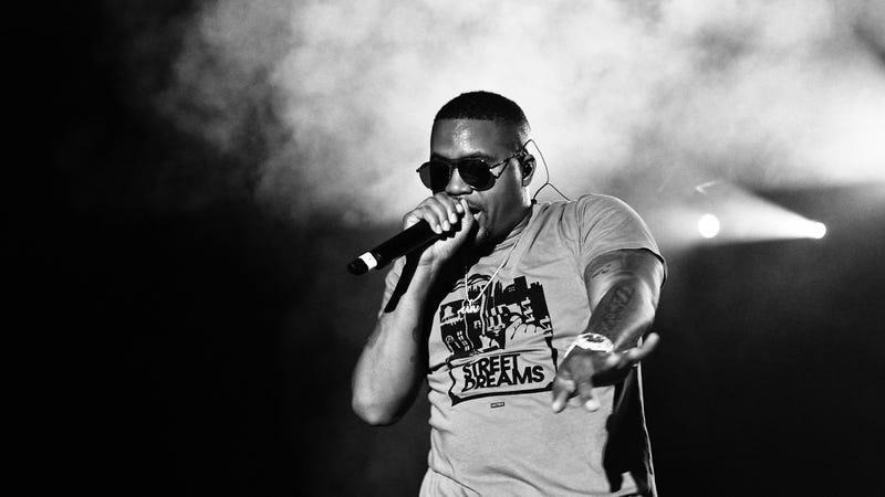 Nas and Kanye make a rushed connection on Nasir