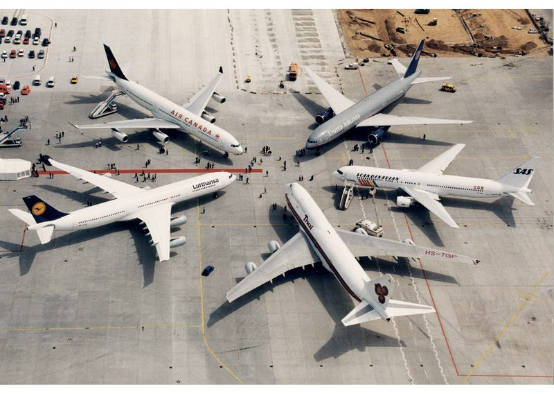 Illustration for article titled Star Alliance Turns 20