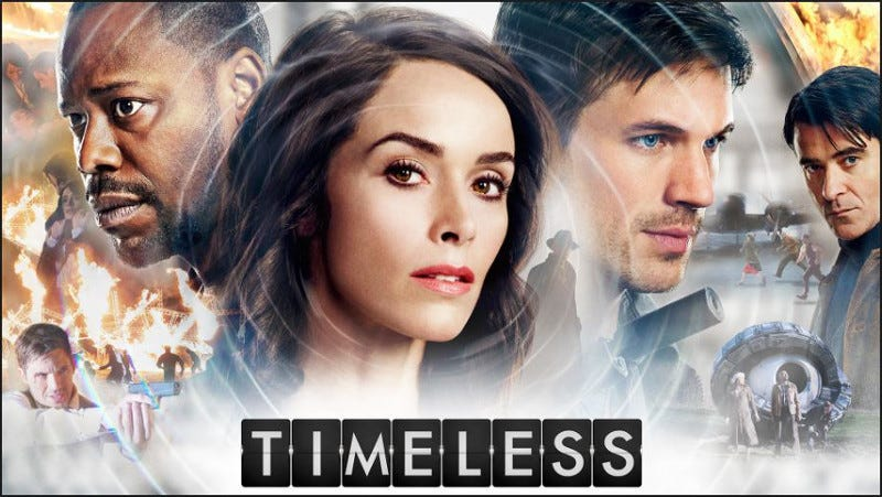 Illustration for article titled Timeless Season 1 - Another Show Where Time Travel Is Messy
