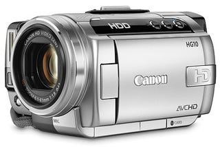 Illustration for article titled Canon HG10 is World's Smallest Hard Disk-Based HD Camcorder
