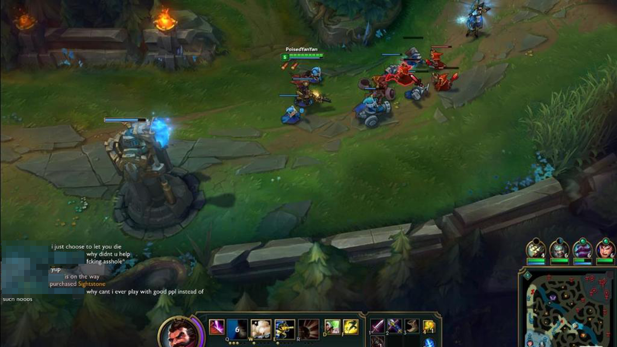 How A League Of Legends Match Typically Falls Apart