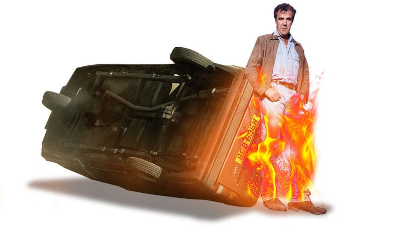Illustration for article titled Clarkson Reveals Bombshell: Top Gear Modified Reliant Robins To Make Them Roll