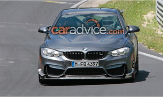 Illustration for article titled BMW M4 CSL?