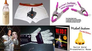 Illustration for article titled 28 Items You Won't Find at Michael Jackson's Neverland Ranch Auction