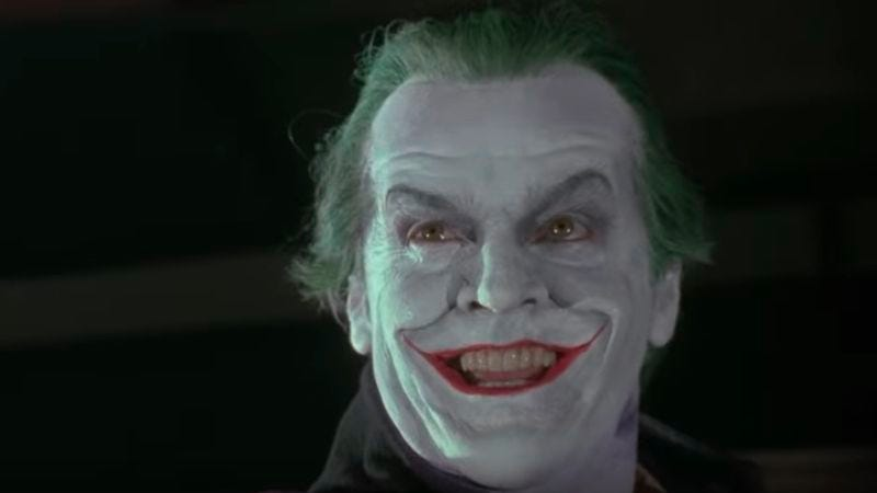 Jack Nicholson as The Joker (Screenshot: YouTube)
