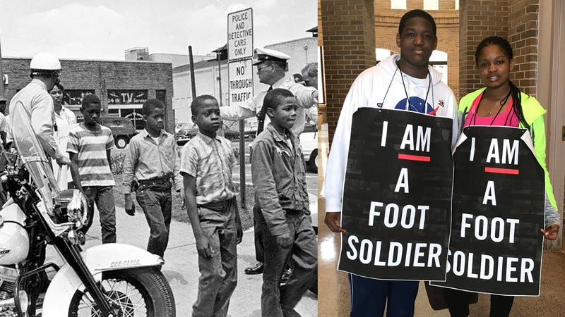 Illustration for article titled The Original 'March for Our Lives': Alabama Children Re-Create 1963 Children's Crusade