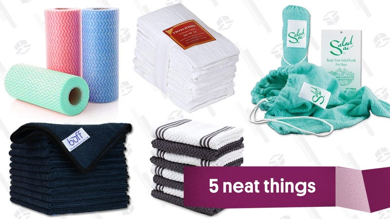 Illustration for article titled Five Towels That Will Make Kitchen Clean-Up Less Terrible