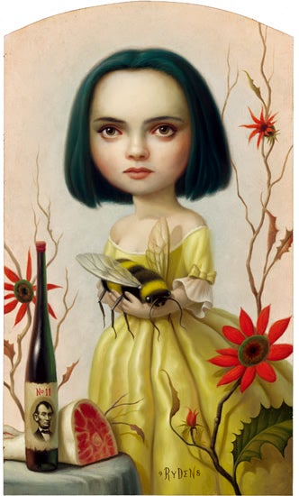Illustration for article titled Mark Ryden seems to have some pointed obsessions...I mean, interests
