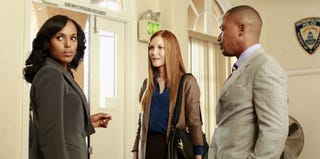 Kerry Washington, Darby Stanchfield and Columbus Short (ABC)