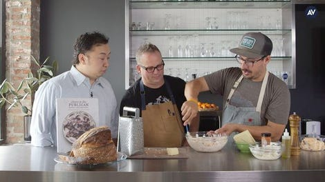 How to make pimento cheese, with chefs Paul Kahan and Cosmo Goss