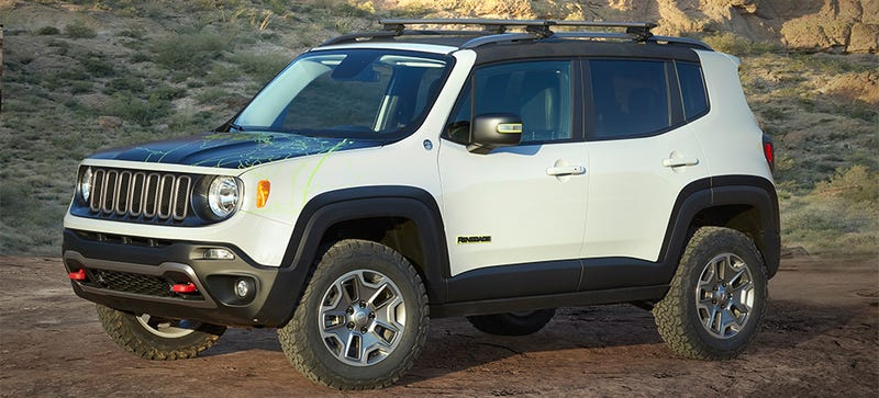 Jeep Renegade Off Road >> The Jeep Commander Concept Is The Off Road Renegade You