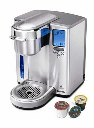 Illustration for article titled Breville BKC600XL Gourmet Single Cup Brewer Debuts in Shiny Stainless