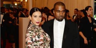 Kim Kardashian and Kanye West (Dimitrios Kambouris/Getty Images)