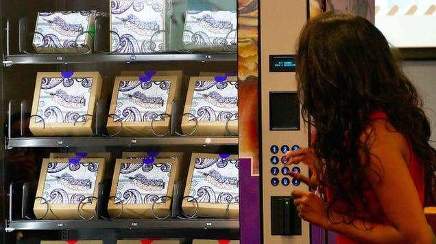Las Vegas Is Installing Drug Needle Vending Machines