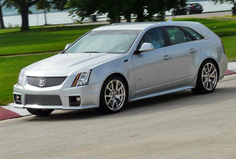 Illustration for article titled Cadillac CTS-V Sport Wagon: First Ride