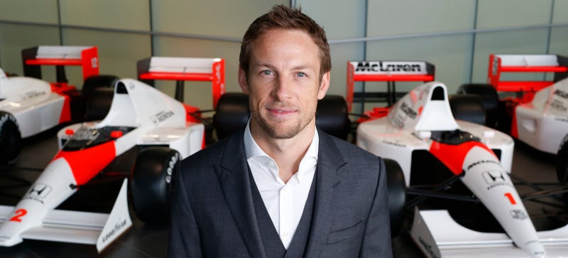 Illustration for article titled Rumor: F1's Jenson Button May Become The Most Dapper Man On Top Gear