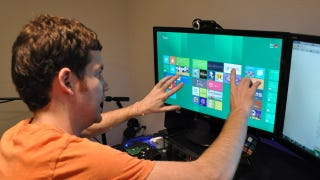 Illustration for article titled Windows 8's Metro UI Isn't Very Good Without Touch, But That Doesn't Really Matter