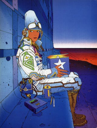 Illustration for article titled 19 Tips For Comic Artists From Moebius