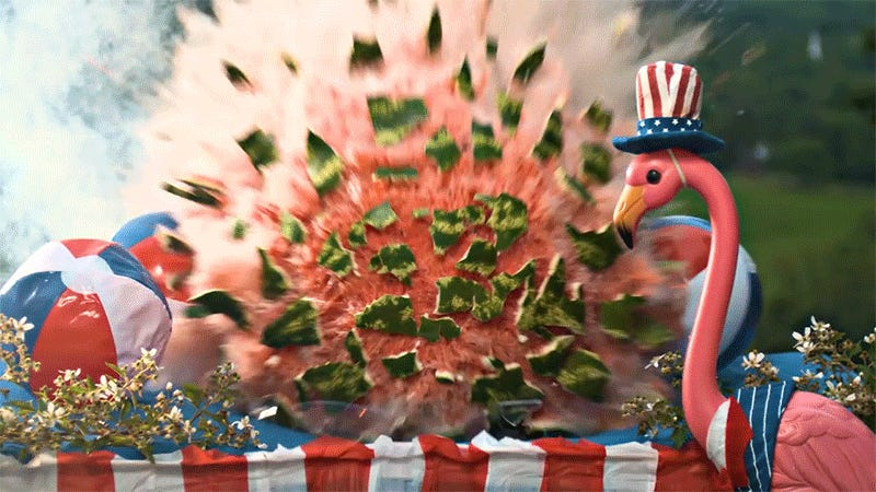 Slo-Mo Footage of Fireworks Blowing Up a BBQ Is the Best Way to Spend the Fourth of July