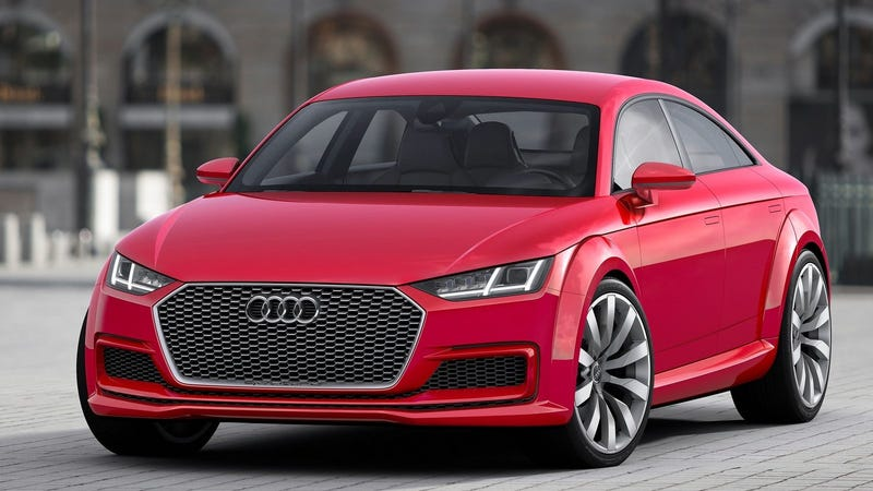 Illustration for article titled The Audi TT May Have to Become a Four-Door to Survive: Report