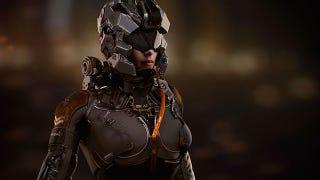 Illustration for article titled Robots y armas del futuro, imaginados en estos exquisitos diseños