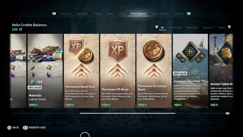 Ubisoft Explains Assassin's Creed Odyssey's Microtransactions And