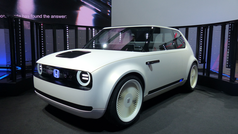 Honda Wins With This Fantastic Electric RetroFuture Concept - Auto car honda