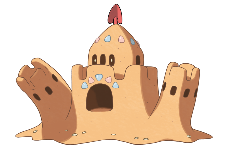 Illustration for article titled Surprisingly, Pokémon's Sandcastle Monster Has Become A Thing In Competitive Play