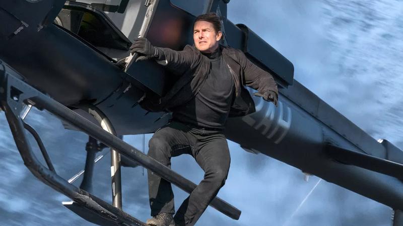 Tom Cruise, preparing to do something nuts.