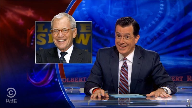 Illustration for article titled Stephen Colbert Does Not Envy the Guy Who Replaces Letterman