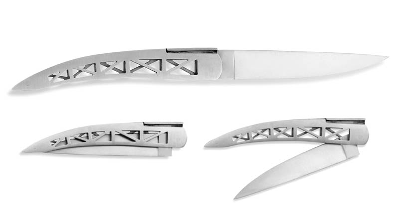 Illustration for article titled Gorgeous Golden Gate Knife Packs the Same Steel as Its Namesake