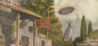 Illustration for article titled Fast Mail of To-morrow (1919)