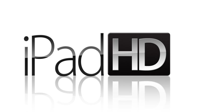 Illustration for article titled Is the New iPad Going To Be Called iPad HD? (Update 2)