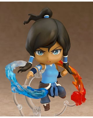 Illustration for article titled This Is the First Legend of Korra Action Figure, You Gotta Deal With It