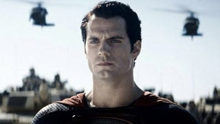 Illustration for article titled Superman looks seriously bummed in the latest picture from Man of Steel