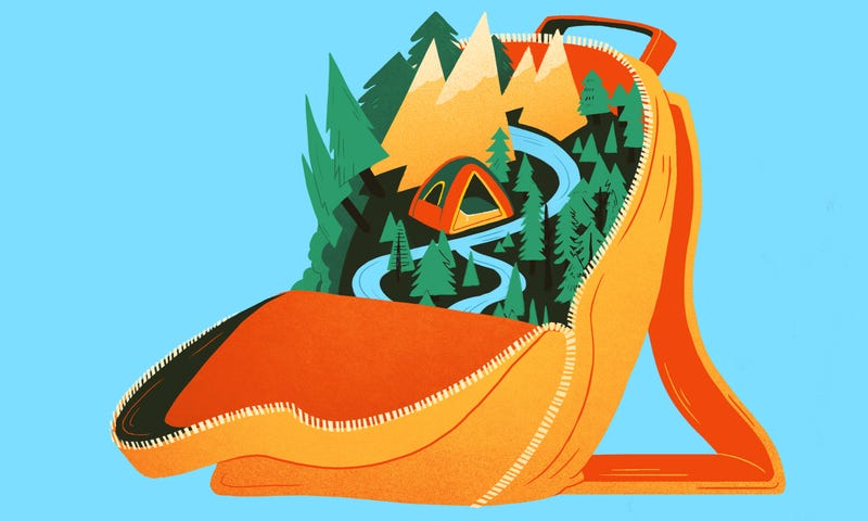 Illustration for article titled How To Survive Backpacking In The Wilderness