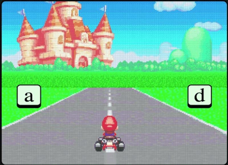 mario racing unblocked