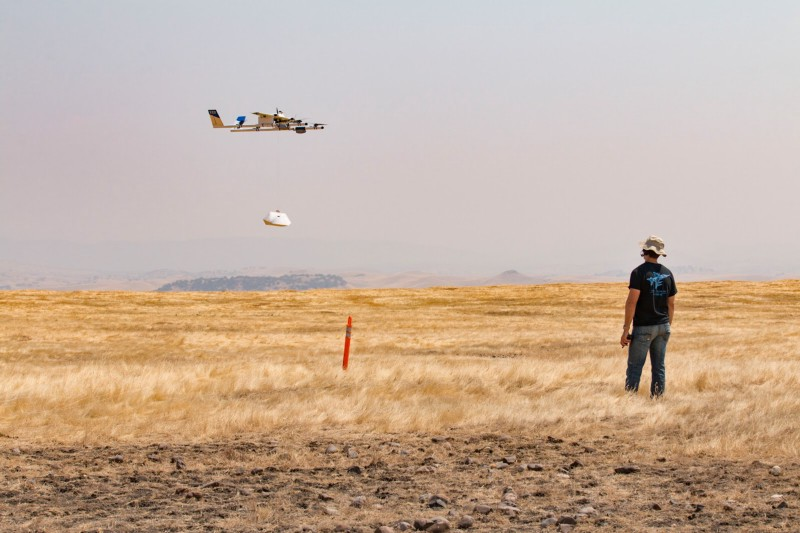 Burritos in the sky: Chipotle tests drone deliveries