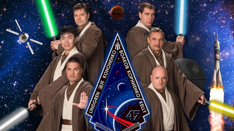 Illustration for article titled NASA's Latest Crew Of Astronauts Think They're Jedi Knights