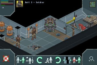 Illustration for article titled X-Com Homage On Intercept Course With iPhone