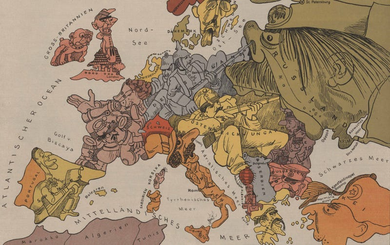 Illustration for article titled How Each Of The Great Powers Helped Start the First World War
